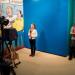 Suske en Wiske - Kindermuseum - Presenteer het nieuws als een echte reporter, met autocue en blue screen.