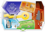 KlimaGlück - Grundriss 3D